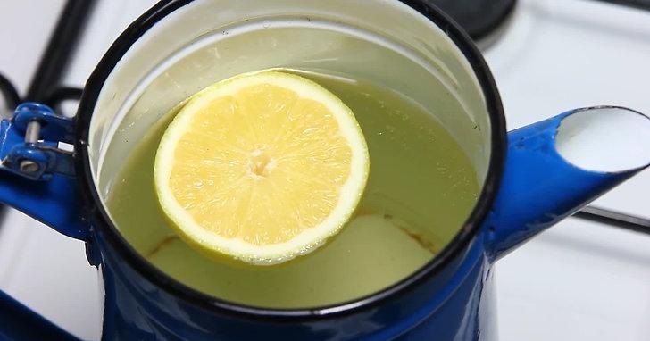 Limon Suyuyla Kettle Temizleme Yöntemi