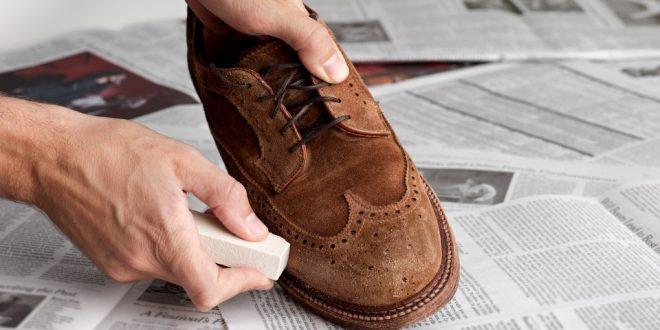 Pratik süet ayakkabı temizleme